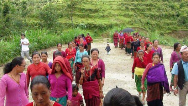Nepali women migrant worker