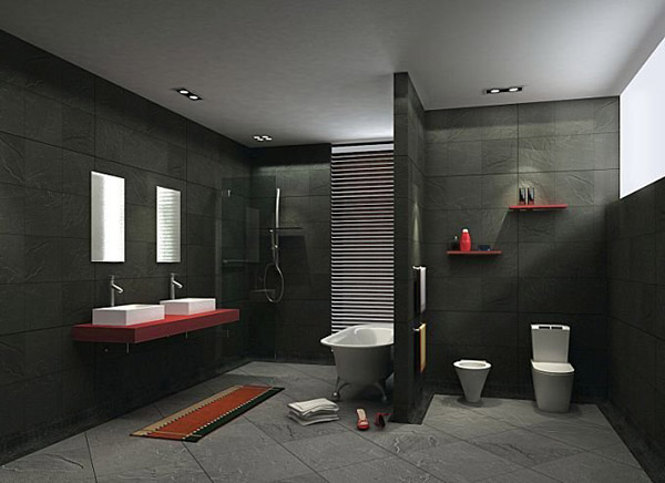 7 bathroom design trends set to explode in 2015 ground. Black Bedroom Furniture Sets. Home Design Ideas