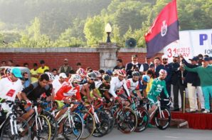 Jammu and Kashmir Police organises Cycle Race