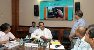 The Minister of State for Agriculture and Farmers Welfare, Dr. Sanjeev Kumar Balyan launched the Android App for Hailstorm Data Collection, at a function, in New Delhi on October 05, 2015.