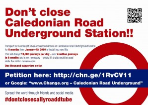 Caledonian Road Underground Station – the case for extra investment instead of temporary closure