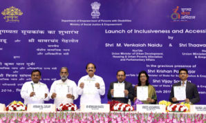 Disabled Persons Can Do Well In An Enabling Environment: Venkaiah Naidu