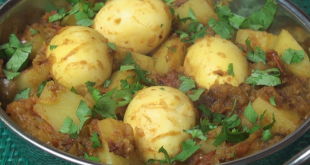 easy chicken curry eggs potatoes Masala recipe