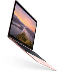 New Macbook In Rose Gold And With Improved Hardware Now Available