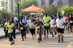 IMT Hyderabad organizes Trail Marathon in nature's lap.