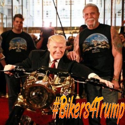 Trump Harley Davidson Press Conference February