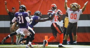 Browns vs. Ravens