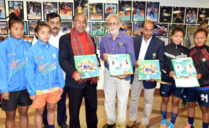 Sports Minister Launches A Book Cum Exhibition On Photographs Of Rio Olympics