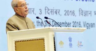 The President of India, Mr. Pranab Mukherjee