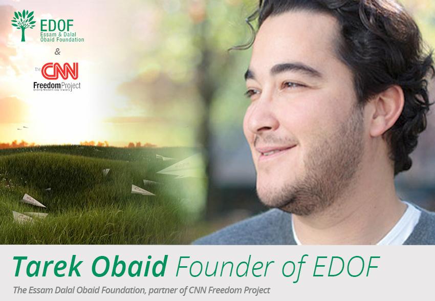 Tarek Obaid, Founder of EDOF