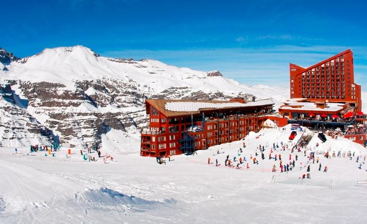 Valle Nevado Ski Resort in Chile