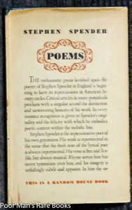 """Poems"" by Stephen Spender"