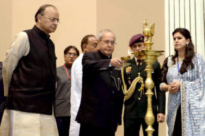 President Of India Calls Upon Shri Ram College Of Commerce