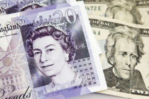 Pound Falls on Slow Wage Growth as Dollar Climbs on Rate Hike Talk
