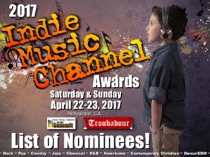 Ed Roman, Hicks, Rahn Anthoni Nominated For 2017 Indie Music Channel Awards