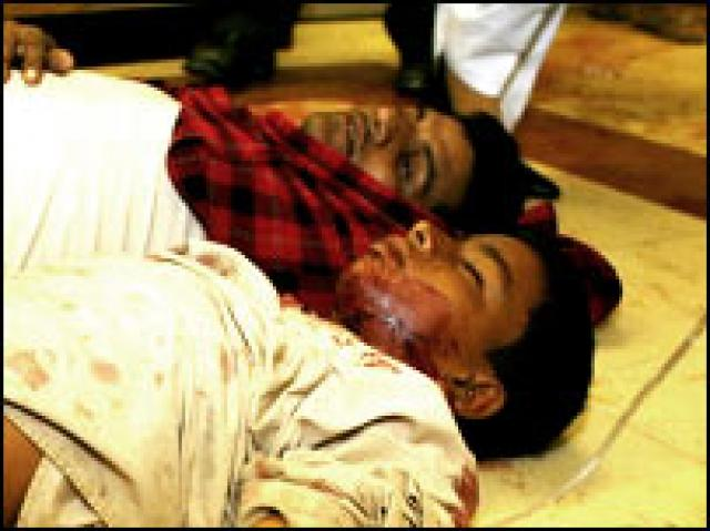 essay on suicide attacks in pakistan A man who was injured in a suicide attack that targeted an election rally of the baluchistan awami party talks on a mobile phone in mastung, pakistan  his pakistan muslim league-n faces a .