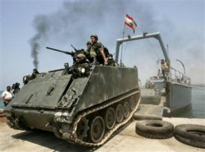 US delivers weapons to Lebanon