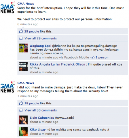 Philippines Gma Tv Network Websites And Social Sites