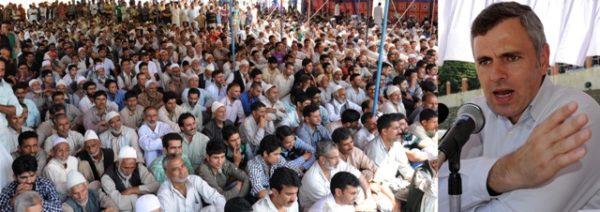JK CM addressing at Pattan in Baramulla-Scoop News