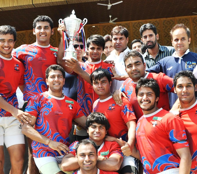 Delhi Team Clinches Final's National Rugby Championship