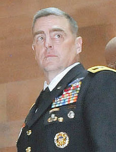 """""""This war is not over"""" warns Lt. General Mark Milley"""
