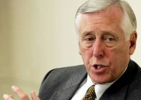 """""""I ask my colleagues to come together on behalf of the American people"""", said Rep. Steny Hoyer"""