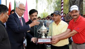 NSG team lifts 17th All India Police Golf Tournament