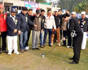 Speaker declares 4th JK Golf Association Tournament open
