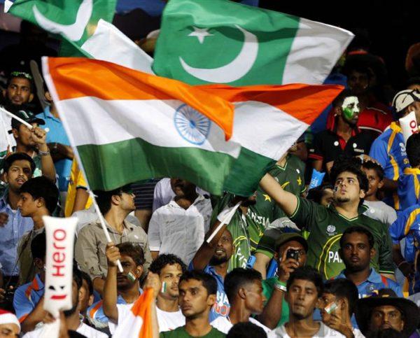 India vs Pakistan Flags
