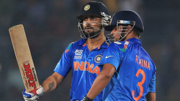 Suresh Raina and Virat Kohli