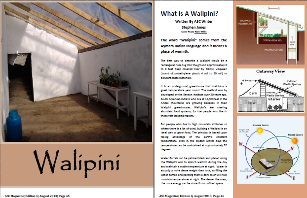 5 Reasons To Grow Your Food In A Walipini Ground Report