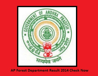 AP Forest Department Result 2014 Check Now apfdrt.org