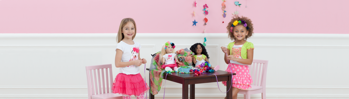 Girls and Dolls Matching Sleepwear
