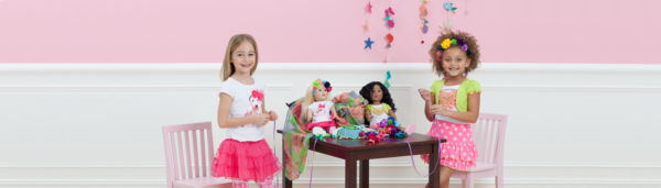 Girls and Dolls Matching Sleepwear