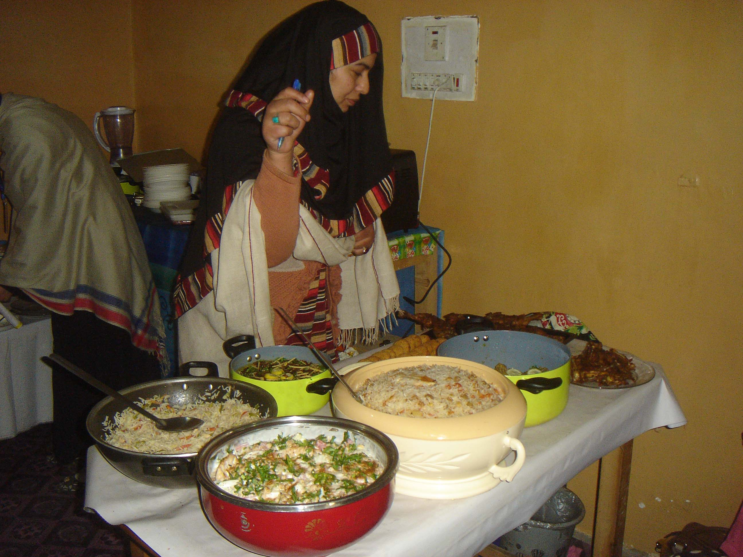 NCCB arranged cooking training for women folk