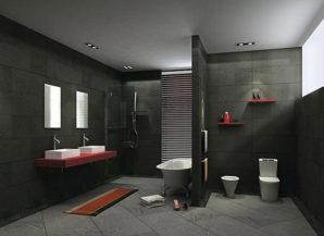 dark tiles
