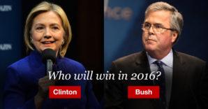 Another Bush/Clinton presidential election?