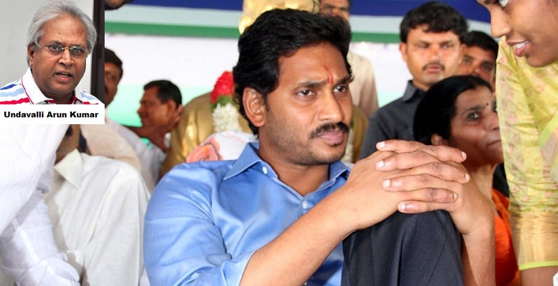 Mr. YS Jagan Mohan Reddy's Indefinite Hunger Strike entered Day II in Nallapadu, Guntur on October 8. Across the state, solidarity fasts are being organized. (Picture Source: Saakshi)