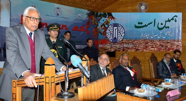 GOVERNOR-ADDRESSING-AT-INAGURAL-FUNCTION-OF-SYMPOSIUM-AT-KASHMIR-UNIVERSITY