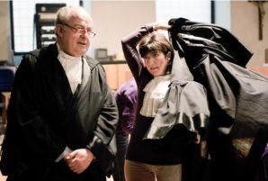 Prosecutors Mignini and Comodi
