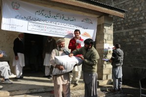 Awareness at seeds Distribution point Chitral