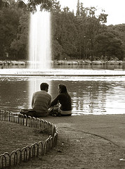 2461929030_889ce6bbd0_m - Lovers Sitting By a Water Fountain by