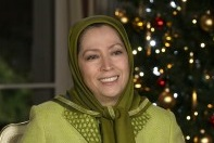 A Christmas Message of Solidarity from Maryam Rajavi