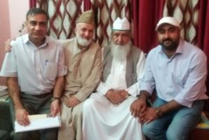 Delegates from across LOC and Jammu Kashmir Diaspora in Delhi after attending World Sufi Forum