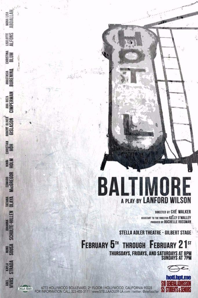 """Hot l Baltimore"""