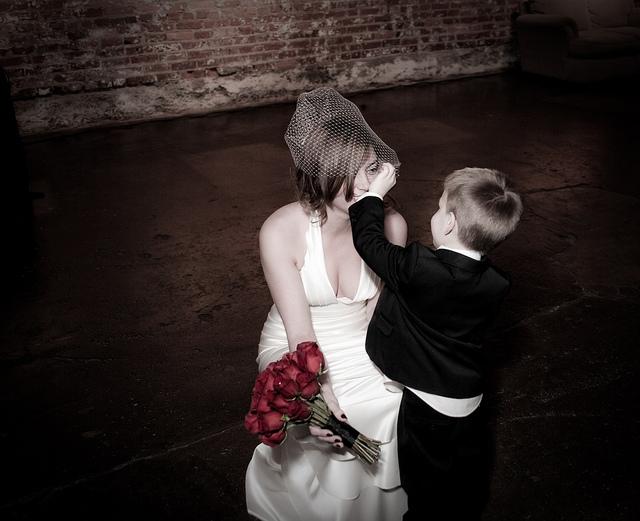 Double Duty Wedding Dress