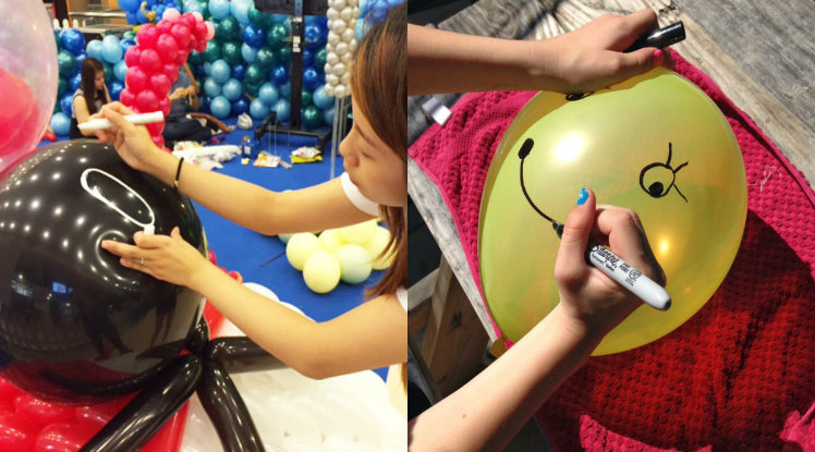Balloon Drawings