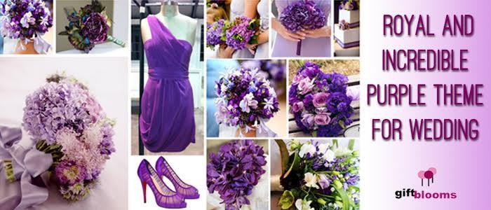Royal And Incredible Purple Theme For Wedding Ground Report