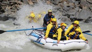 White Water Rafting Banff Outfitters Allowed Access to Kicking Horse River