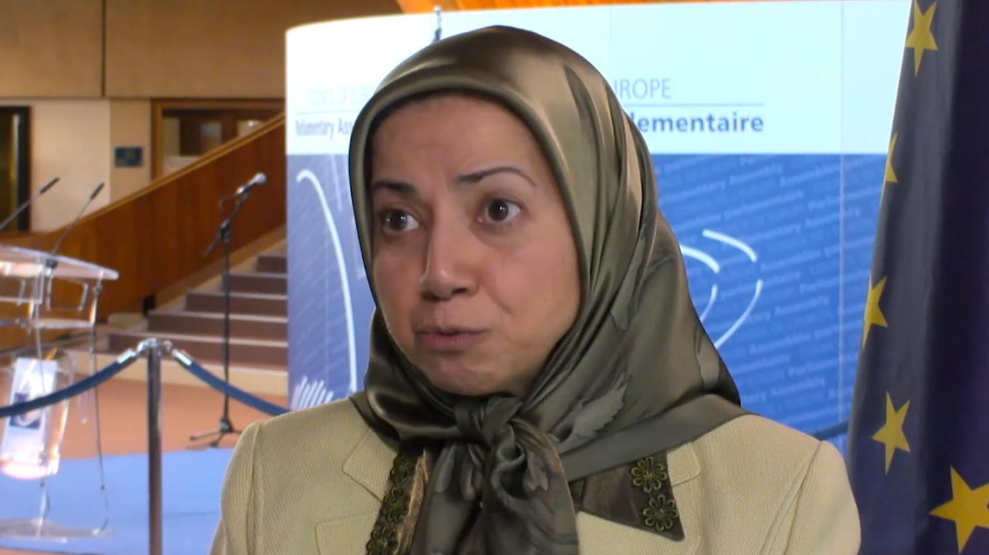 Dowlat Nowrouzi of NCRI interviewed by MediaBox Strasbourg PACE